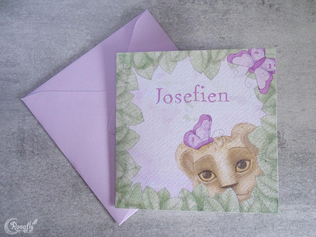 geboortekaartje-josefien-voorkant-envelop-ronafly-rowan-hogervorst
