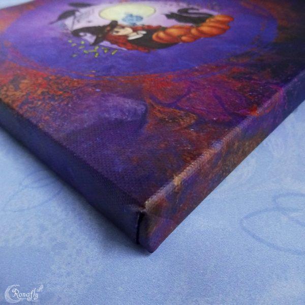 Halloween/Samhain canvas - Seizoen van de heks - Ronafly